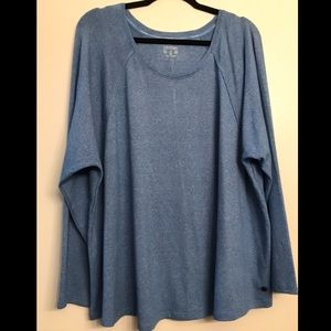 Calvin Klein Dry Performance Blue Long Sleeve 3X